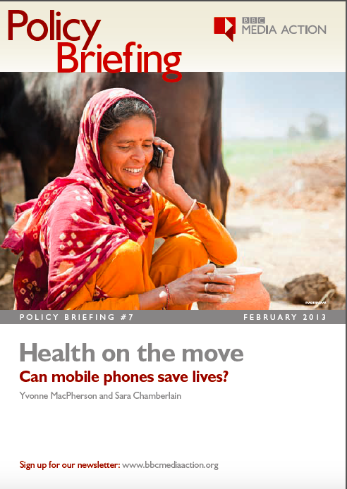 Health on the move - Can mobile phones save lives?