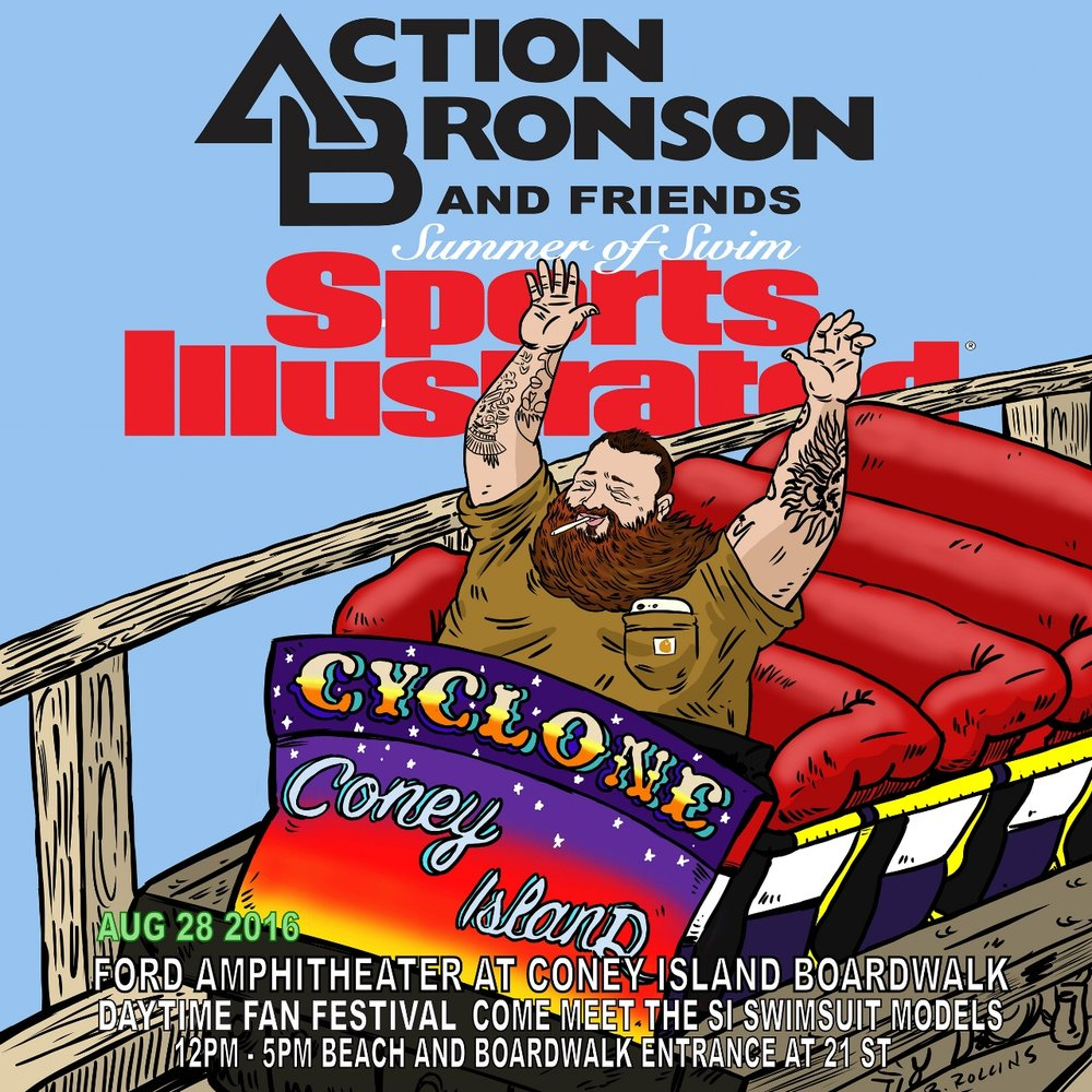 Flyer Artwork for Action Bronson
