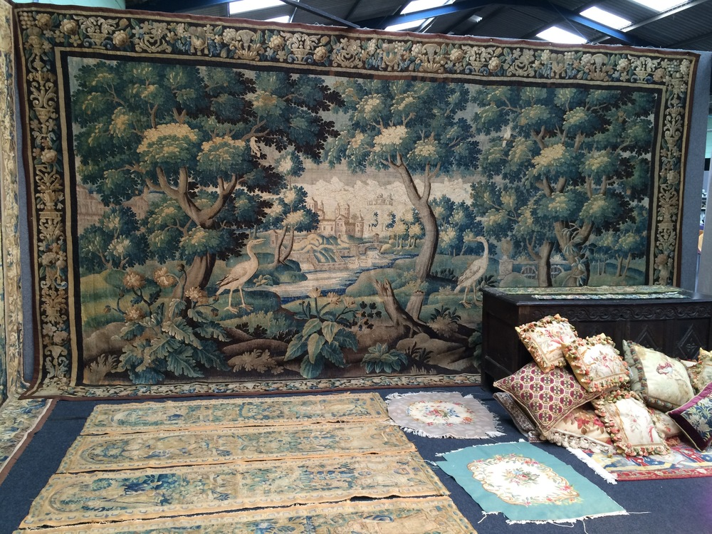 18th Century Tapestry. Size 4.80m x 2.70m. SOLD