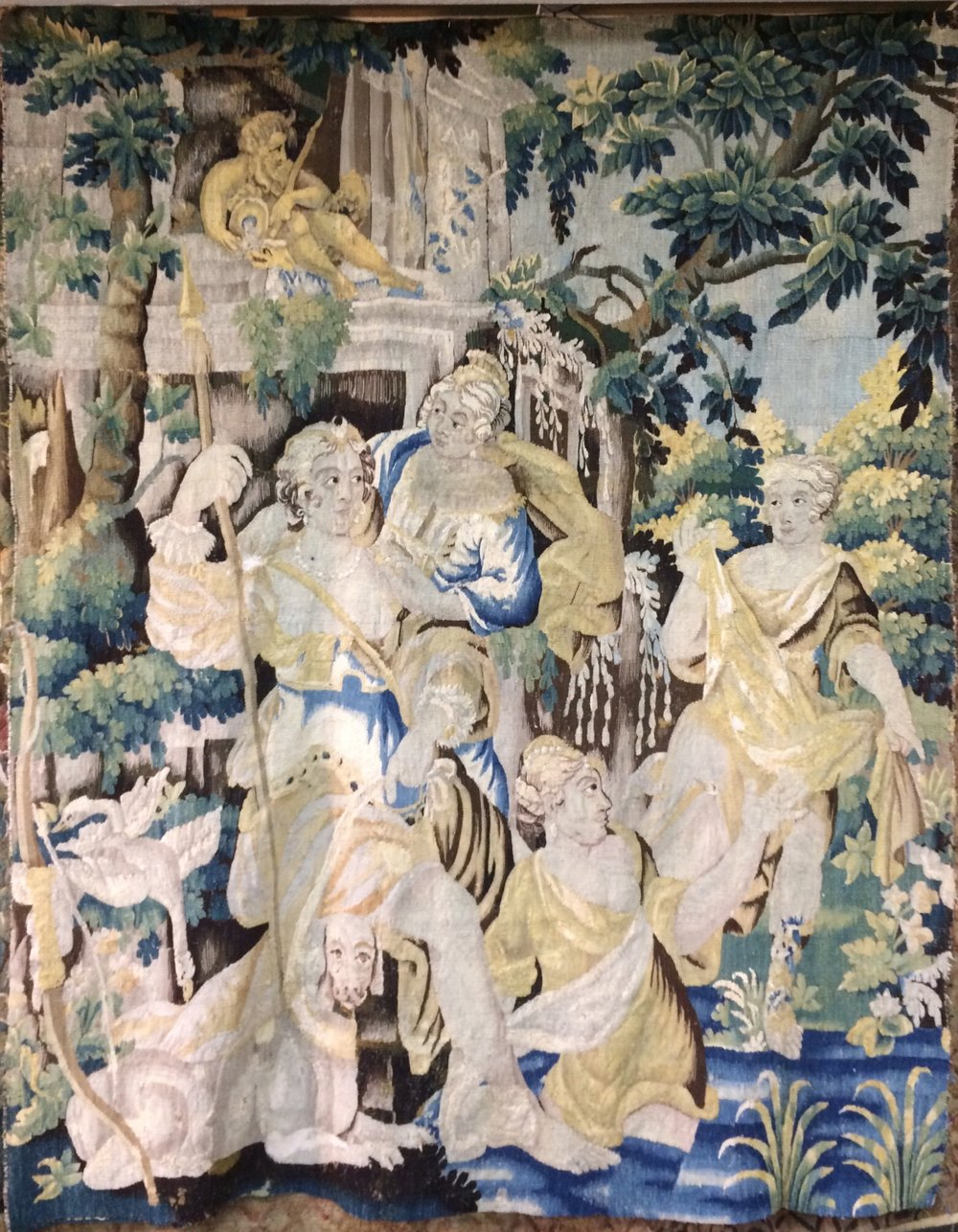 18th Century Brussels Tapestry 2.25m x 1.80m SOLD