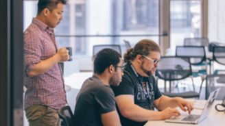 Looking for technical talent?  The Hacker Fellows program is a one-year fellowship serving as a pipeline to connect recent Computer Science graduates with local tech start-ups.