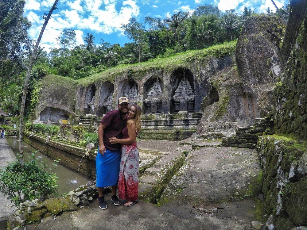 The beautiful Gunung Kawi Temple