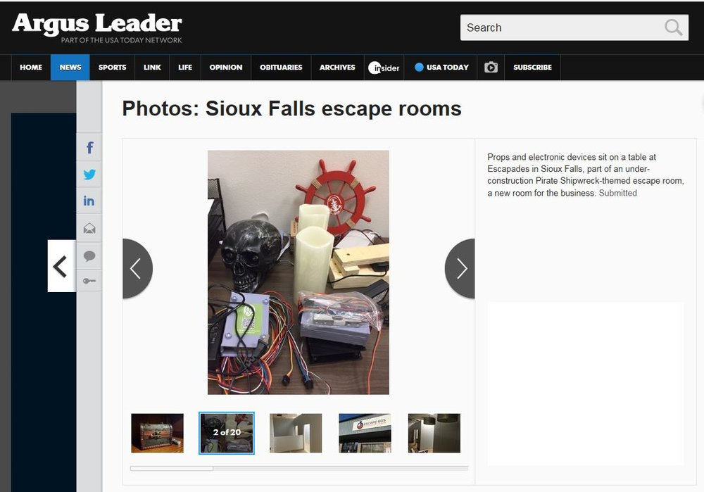 Escapades Escape Room Sioux Falls SD Argus Leader