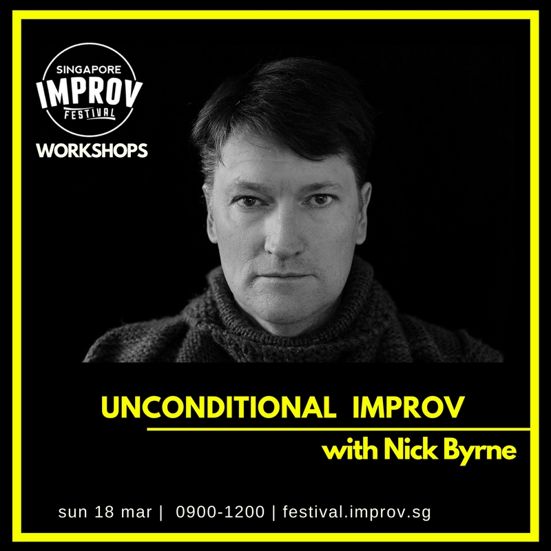 Unconditional Improv - How much do you really care about your scene partner?