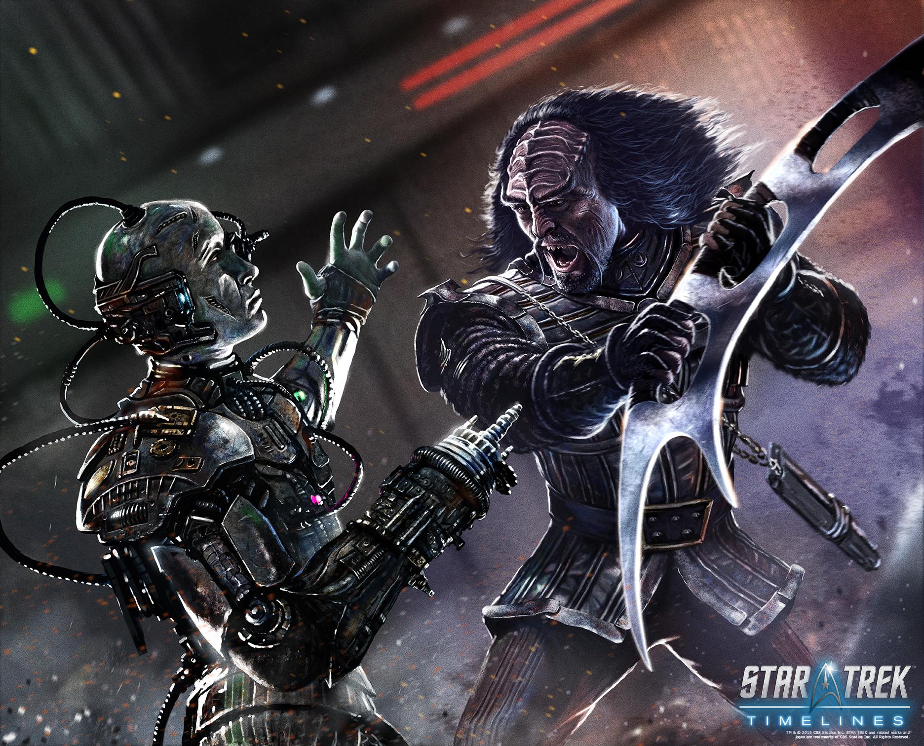 Borg vs. Klingon