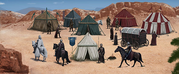 Dorne Battle Camp
