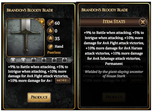 Brandon's Bloody Blade