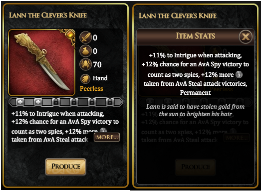 Lann the Clever's Knife