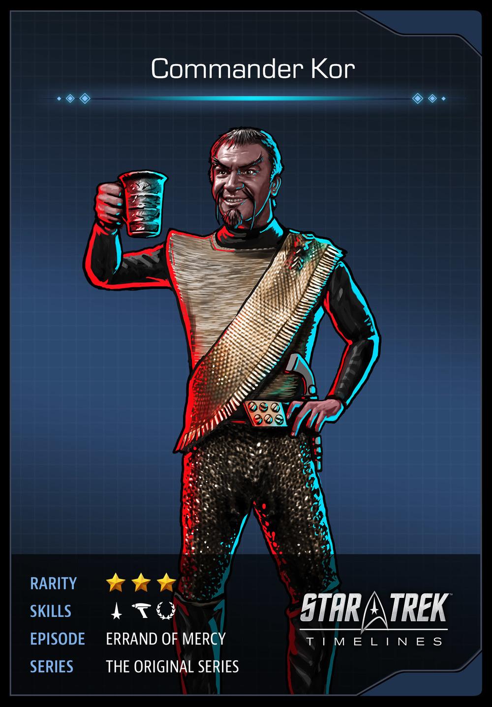 Kihlstrom kor commander