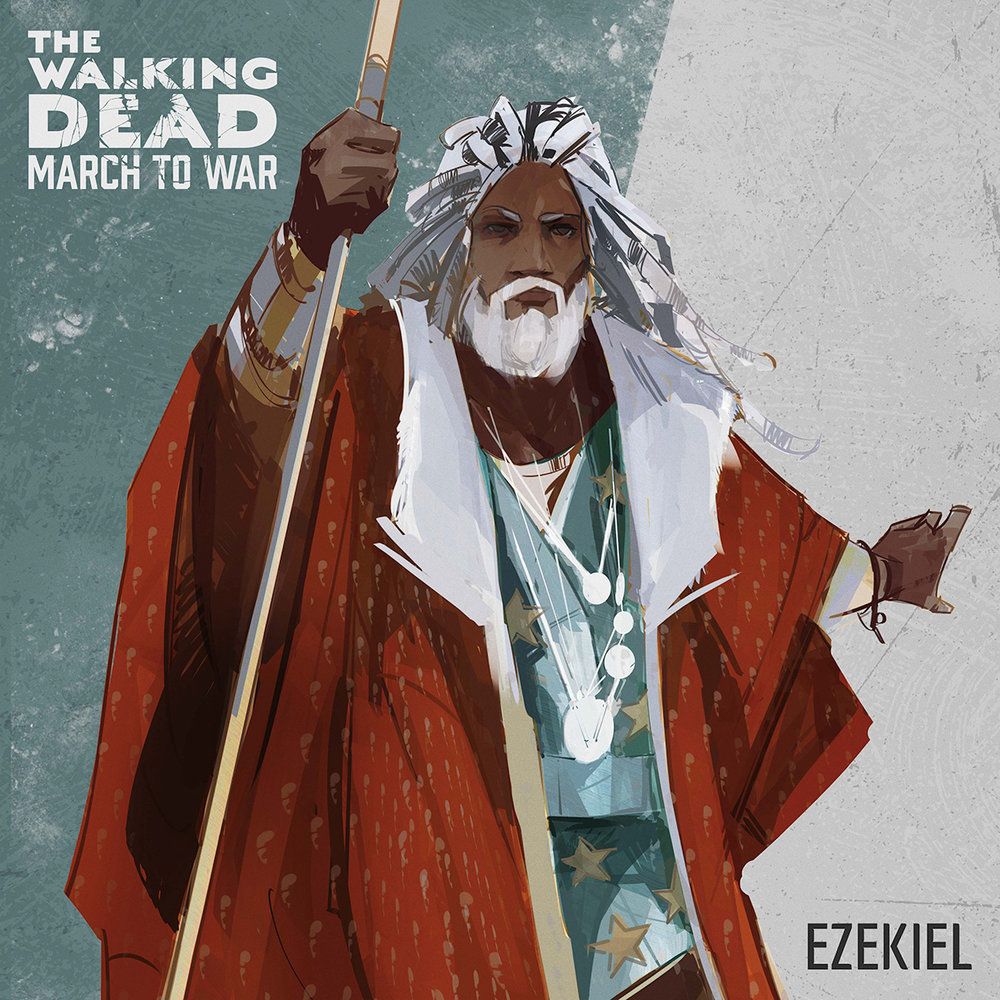 Ezekiel - Ruler of the Kingdom, he excels at attacking and defending against Walker Swarms.