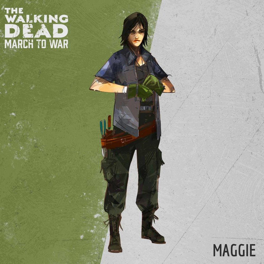 Maggie - A rare Council Member who improves in all four stats. Specializes at offense in late game.