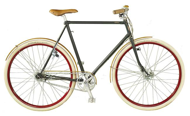 This is an example of a vintage bike.