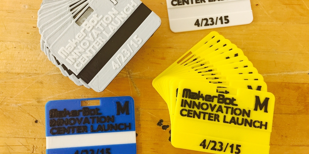 3D Printed Nametags