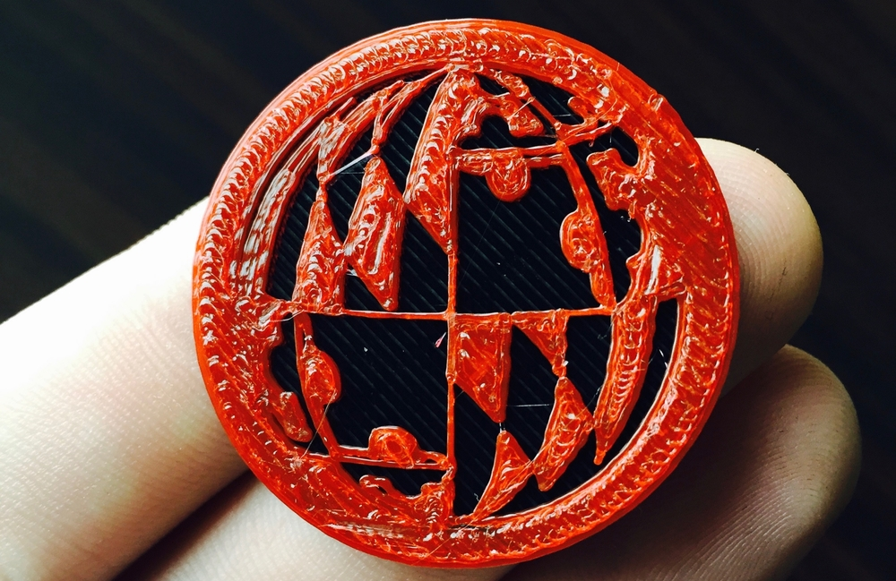 3D Printed UMD Logo