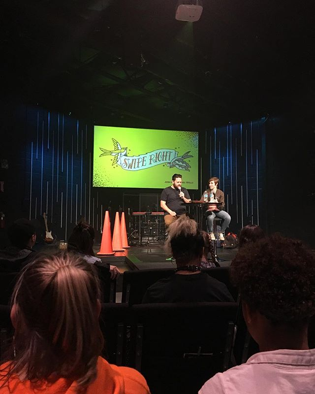 Josh and Rachel brought down the house tonight!  Thank you for being so real and authentic in sharing your stories!  #motionmidwest  #mnswiperight  #seeyounextmonth