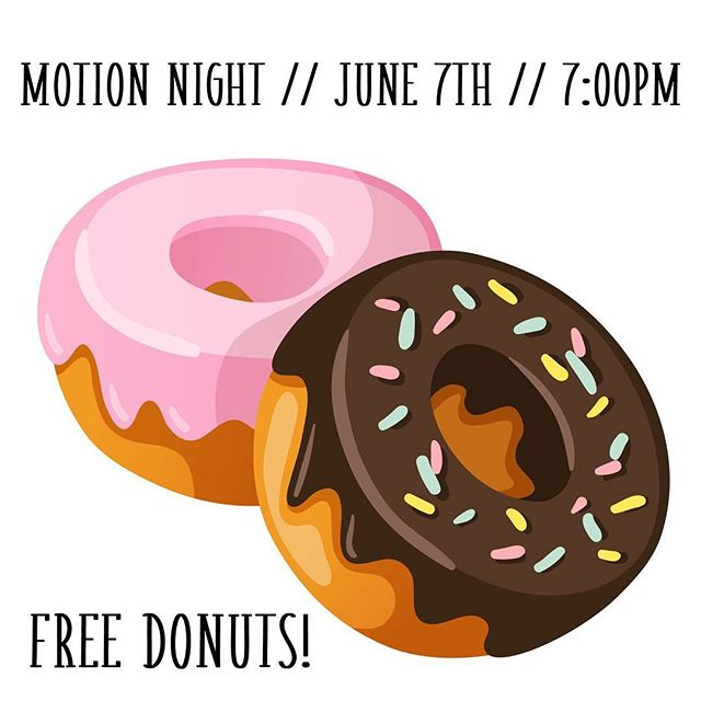 MOTION Night = #freefood!  The donut bar is back!  June 7th... doors open at 6:30pm.⠀ ⠀ #motionmidwest⠀⠀ #summerofmotion⠀⠀ #runningwithgiantsatmotionnight⠀#games⠀⠀ #donuts⠀ #donutbar⠀⠀ #music⠀⠀ #party⠀⠀ #share⠀⠀ #bringafriend
