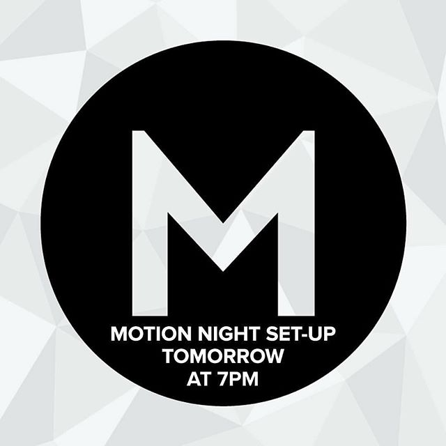 MOTION Night is this Wednesday! But before we get there, we need to get the church ready for the party! Join us tomorrow night at 7pm for setup! Send a PM if you need a ride! ⠀⠀ #motionmidwest⠀⠀ #setup⠀⠀ #stepout⠀⠀ #ownyourmotionnight