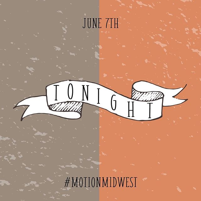 Running with Giants at MOTION Night is TONIGHT! Doors open at 6:30pm... address is in our bio!⠀ ⠀⠀⠀ #motionmidwest⠀⠀⠀ #summerofmotion⠀⠀⠀ #runningwithgiantsatmotionnight⠀ #games⠀⠀⠀ #freefood⠀⠀⠀ #donuts⠀⠀⠀ #music⠀⠀⠀ #party⠀⠀⠀ #share⠀⠀⠀ #bringafriend