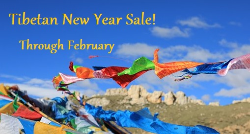 Rug Sale to Celebrate Tibetan New Year - Happy New Year and welcome to the Year of the Dog! InnerAsia is celebrating Tibetan New Year (Losar) through out the month of February with a New Years Rug Sale on all rugs and savings of up to 25% on all in stock rugs and 10% on new and custom orders. What a great time to design the perfect rug for you. Sale prices available online or by appointment.