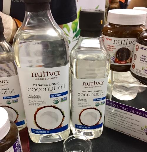 Nutiva Liquid Coconut Oil