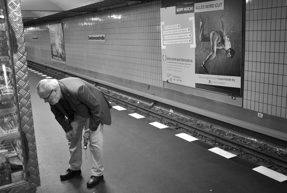 Gneisenaustr U-Bahn. 2016