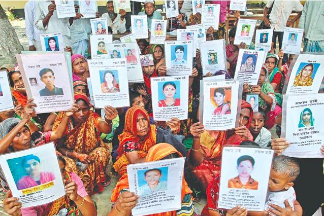 Families of Missing Rana Plaza Victims