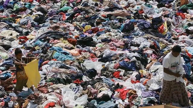 Textile Landfill Pollution