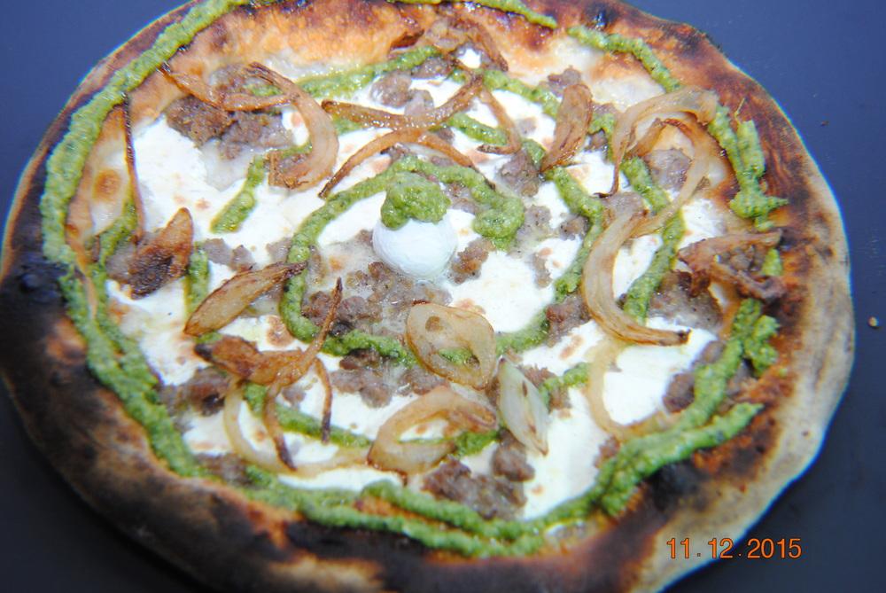 Pesto Sausage Onion.JPG