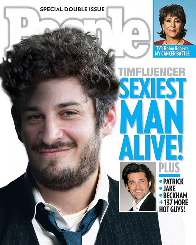 So humbled and honored to be recognized by @People magazine. I've been called hot, cute and handsome. It's good to be recognized as sexy.