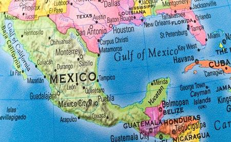 Mexico Usa Border Map My blog