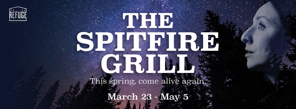 From RTP's Artistic Director, Christopher Pazdernik:  RTP is proud to bring Chicago it's first site-specific production of 'The Spitfire Grill.' I was first introduced to this award-winning off-Broadway musical 13 years ago as the directing apprentice on a summer stock production, and it's been on my bucket list ever since. I believe the show's message of hope and healing is more necessary than ever before, and I look forward to sharing it with audiences this spring! More details soon...
