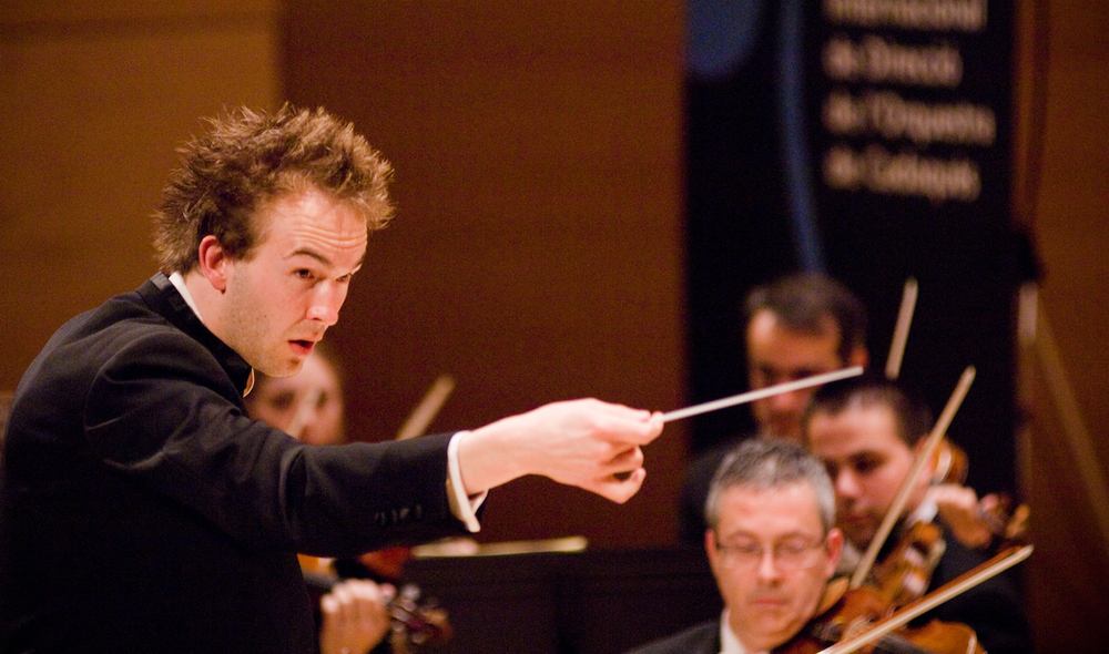 22/ Winning the Cadaques International Conducting Competition