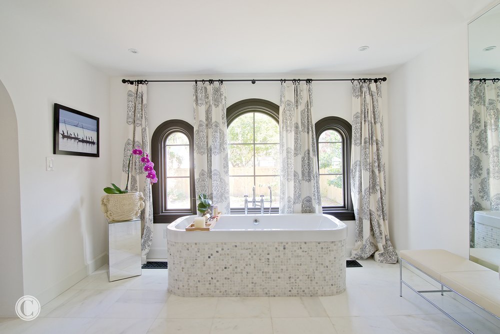 Home renovation, San Marco – Master Bath, ©Wally Sears Photography
