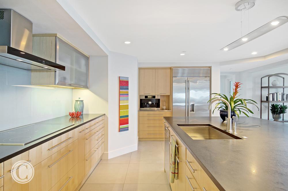 Jax Bch. Renovation, Acquilis Condominium, Kitchen | Cornelius Construction Company