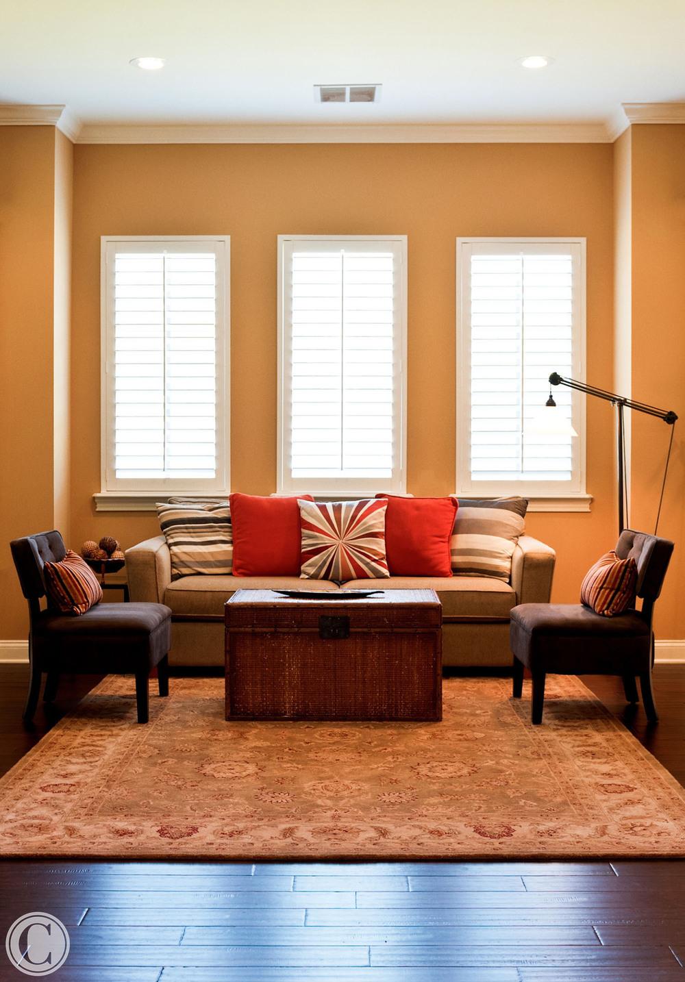 Dark Hardwood Flooring, Glen Kernan, Jacksonville, Florida, ©Mark Sain Wilson Photography