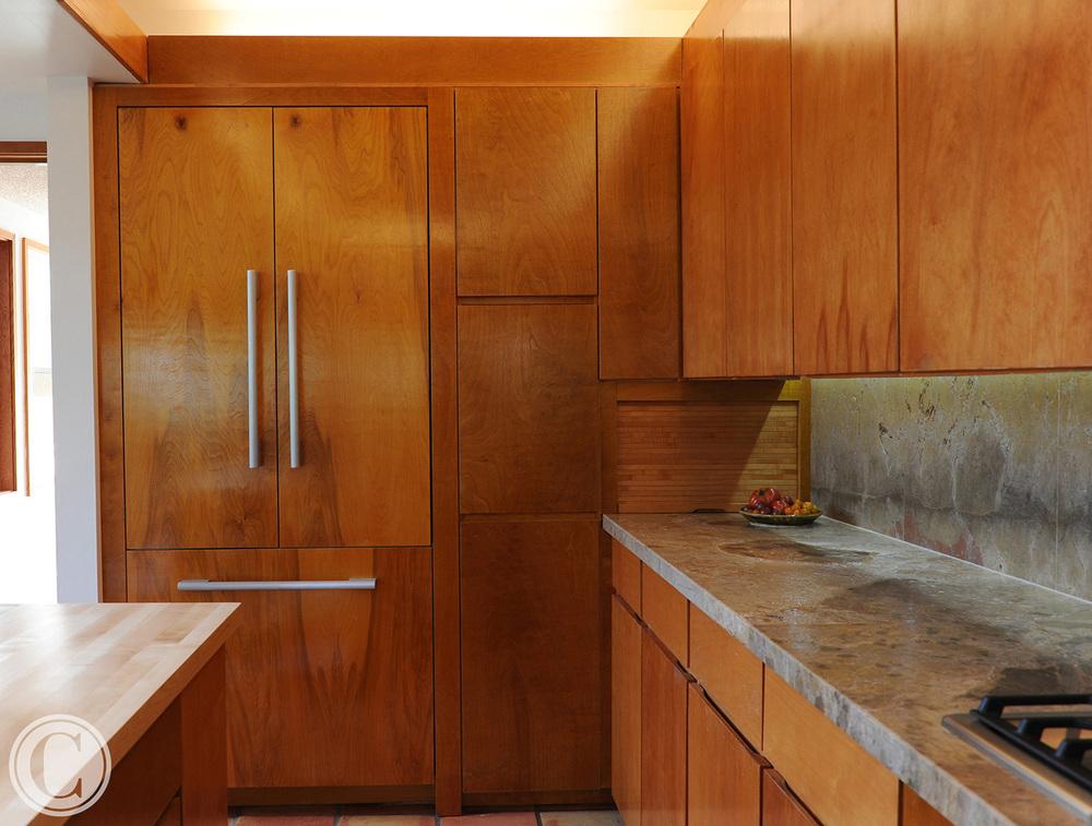 Kitchen renovation in William Morgan-designed oceanfront home | Cornelius Construction Company