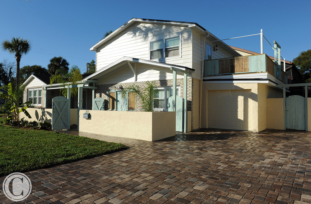 Design Build Remodel In Neptune Beach, FL Included Interior And Exterior  Elements. The