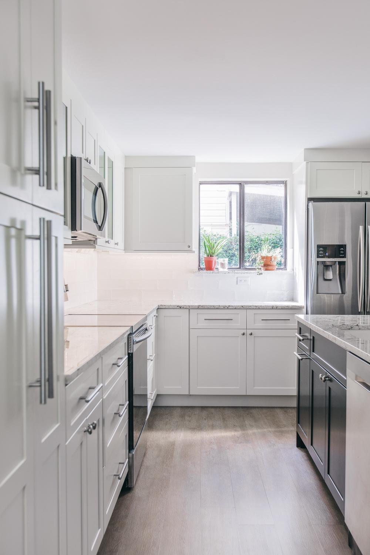 Kitchen | porch renovation, Jacksonville Beach, Florida  © Cristina Danielle Photography