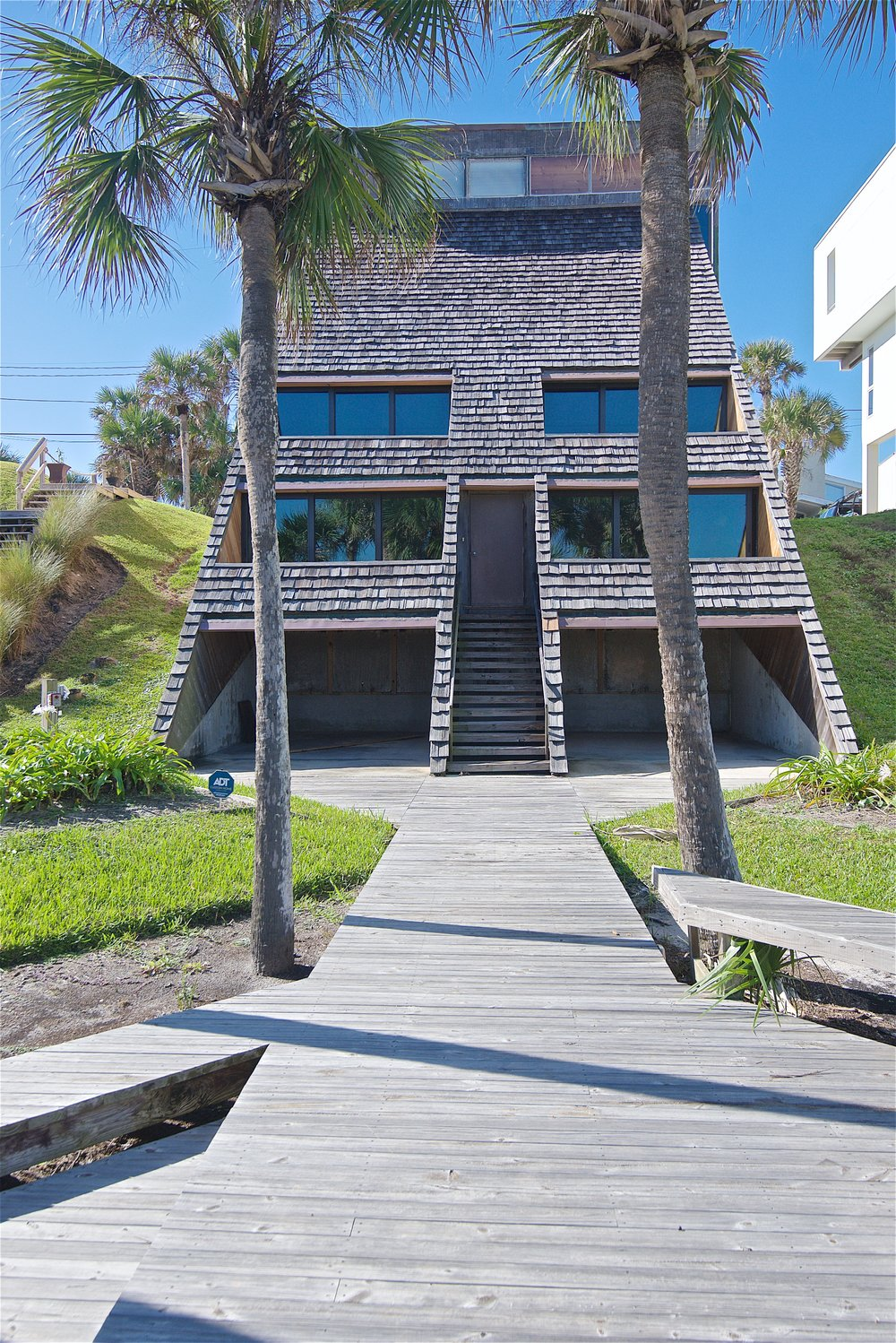 Architect William Morgan oceanfront home renovation, Atlantic Beach, FL | Cornelius Construction Company