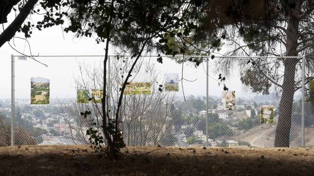 Dwyer Kilcollin THE VIEW LA><ART (LAXART) and M+B Installation Debbs Park, El Sereno