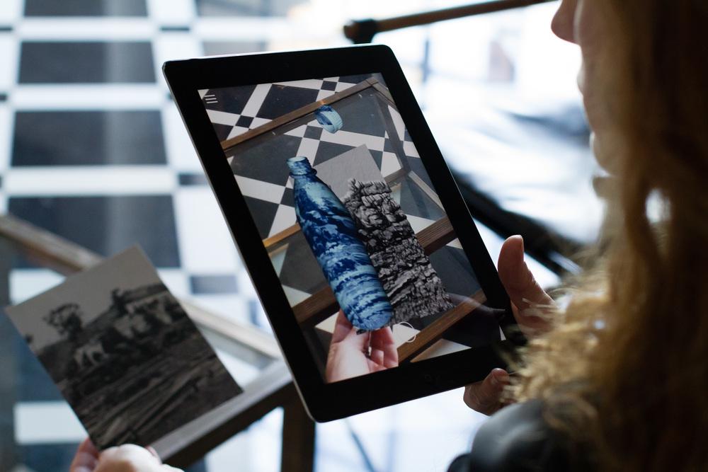 Dwyer Kilcollin Augmented Reality Virtual Reality DAQRI collaboration for LA><ART (LAXART) Gala at Greystone Manor