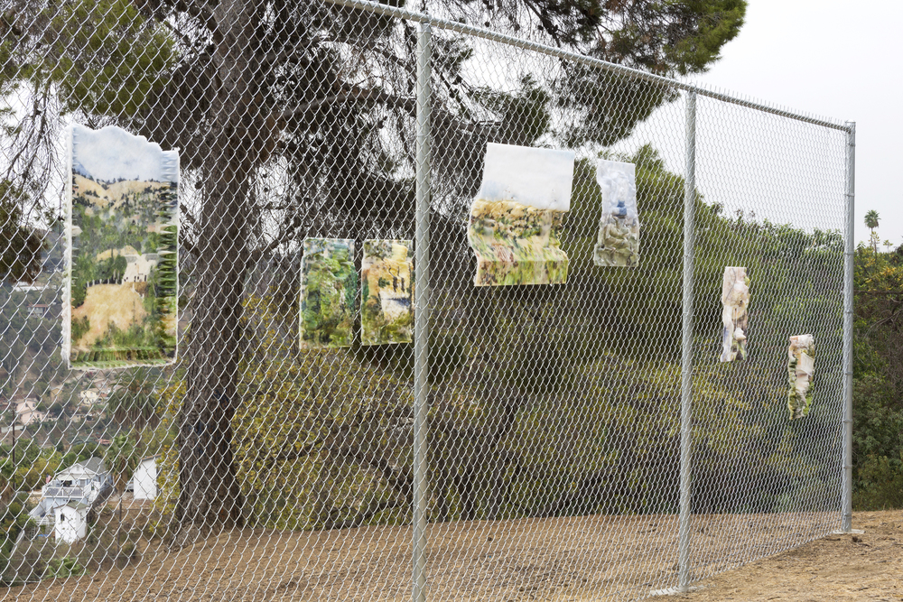 Dwyer Kilcollin The View Part I, Debbs Park, El Sereno, Outdoor Installation View. LAXART and M+B