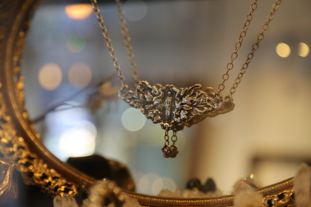 242 Grand Jewelry Perry Gargano angel Necklace