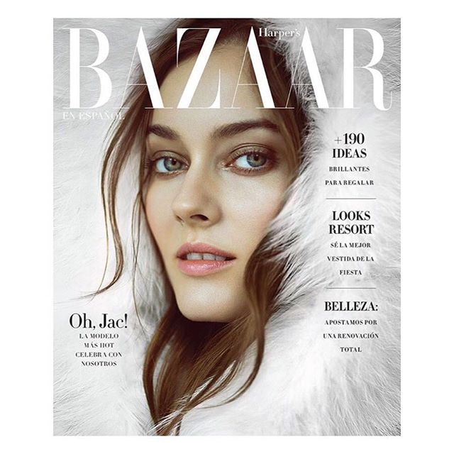 BRITT BOLTON FEATURED IN COVER STORY OF HARPERS BAZAAR MEXICO DECEMBER ISSUE