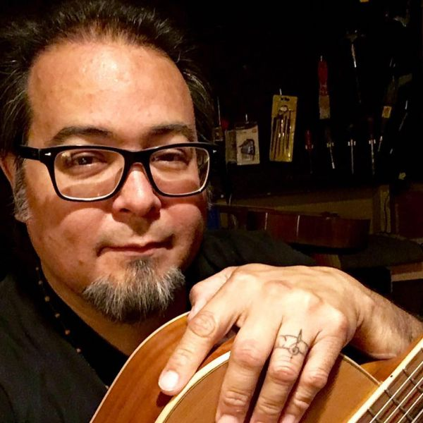 Guitarist Stephen Arriola
