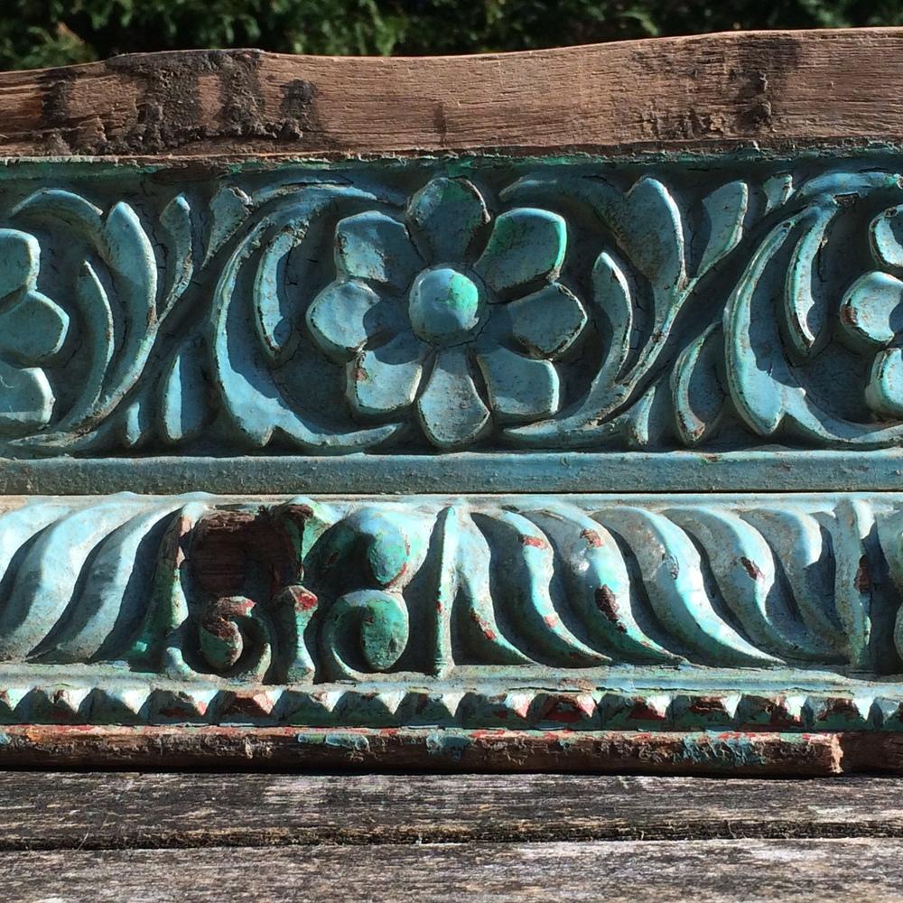 Indian Shelf Carving Detail