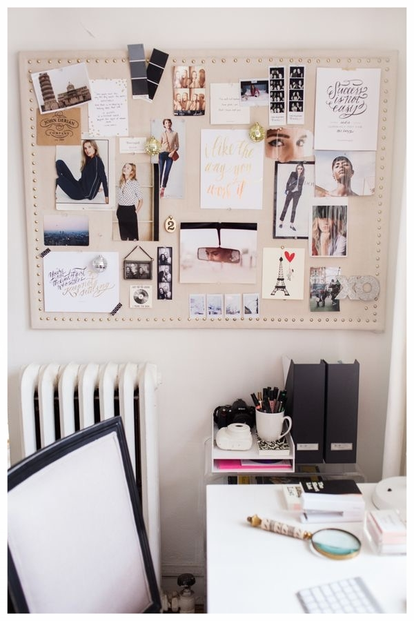 1. - Start pulling pins for your dream board.
