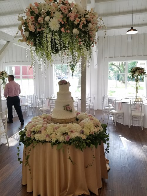 Trends wedding trends for 2018 tulsa wedding society cake and chandelierg junglespirit Image collections
