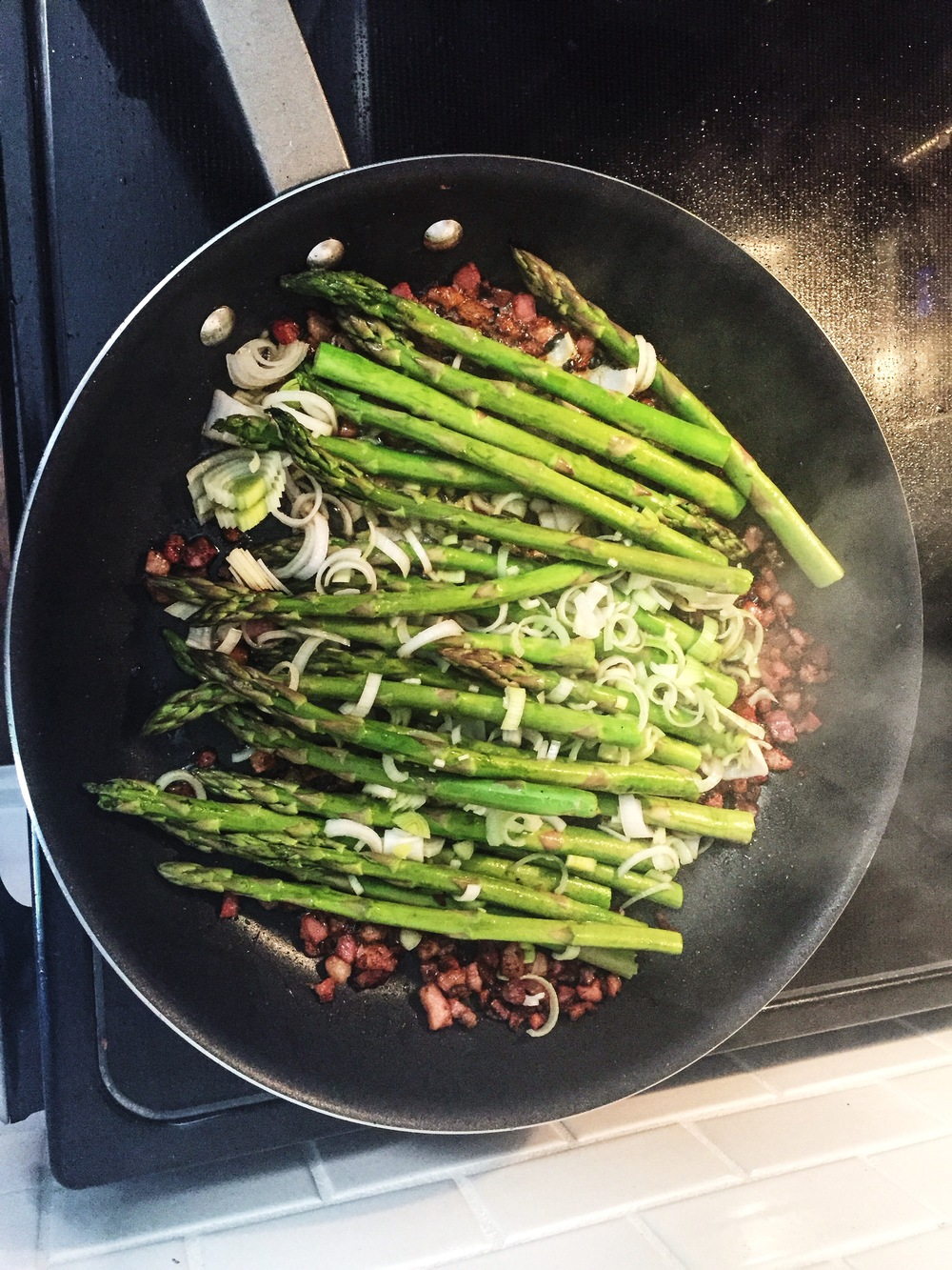 Asparagus is one of those vegetables I would always hesitate to touch; now it's a side staple
