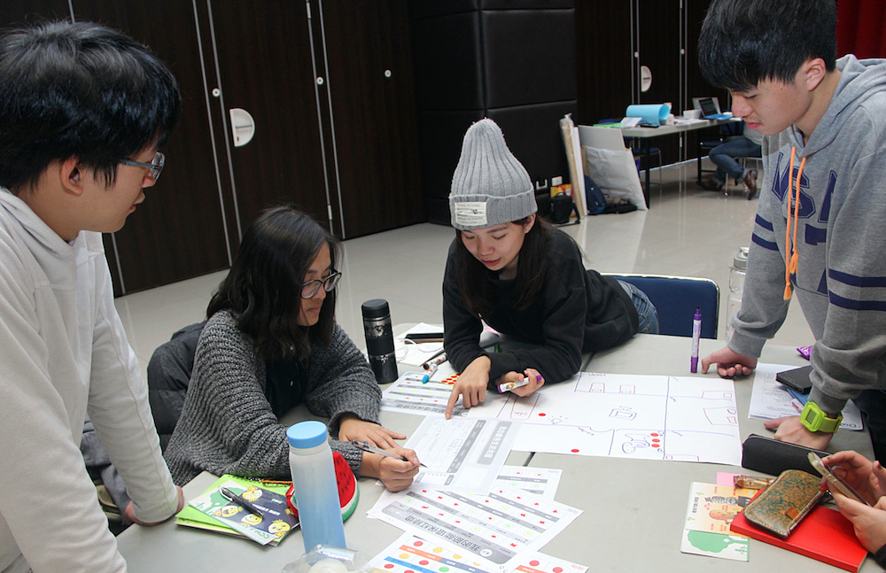 University students participate in a DOMI-led sustainability ambassador training camp in New Taipei City, Taiwan
